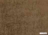 Kirkby Design - Ion Elmwood  | Curtain & Upholstery fabric - Washable, Brown, Dry Clean, Velvets, Plain, Standard Width
