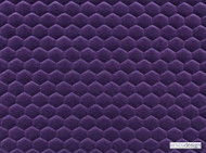 Kirkby Design - Cloud Midnight Purple  | Upholstery Fabric - Pink, Purple, Dry Clean, Geometric, Embroidery, Quilted, Velvets, Honeycomb, Fibre Blend
