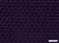 Kirkby Design - Cloud Amethyst  | Upholstery Fabric - Fibre Blends, Geometric, Honeycomb, Pink, Purple, Velvet/Faux Velvet, Domestic Use, Embroidery, Quilted, Standard Width