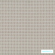 Warwick Summit Everest Mink    Curtain Fabric - Grey, Diaper, Fibre Blends, Foulard, Geometric, Linen and Linen Look, Small Scale, Transitional, Washable, Domestic Use