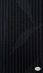 Wilson - Cordoba - Translucent - Ebony  | - Stain Repellent, Black - Charcoal, Floral, Garden, Synthetic, Tropical, Suitable for Blinds