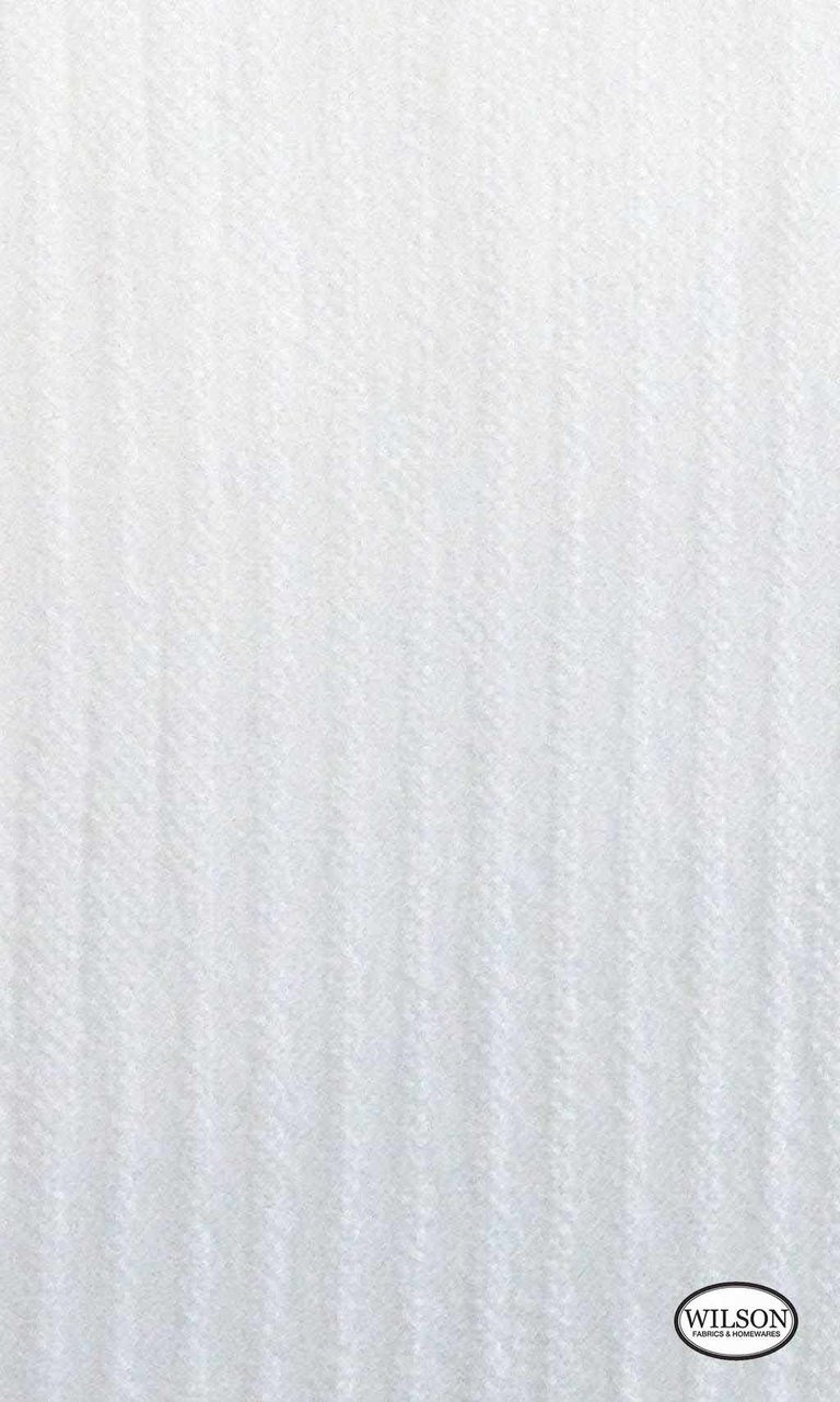 Wilson - Cordoba - Translucent - Snow  | - Stain Repellent, White, Stripe, Synthetic, Suitable for Blinds, White