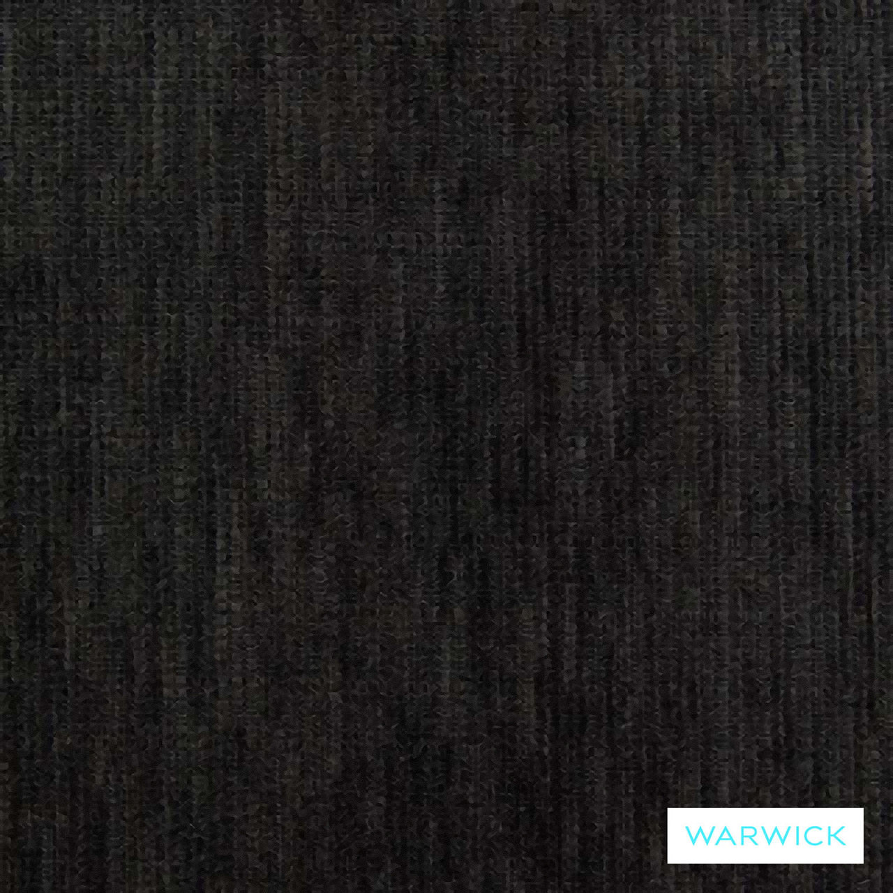 Warwick Tangent Rover Charcoal  | Upholstery Fabric - Plain, Black - Charcoal, Synthetic, Washable, Commercial Use, Domestic Use, Halo, Standard Width