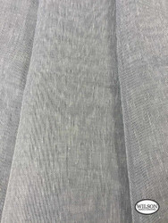 Wilson - Sabre - Granite  | Upholstery Fabric - Grey, Plain, Synthetic, Domestic Use, Textured Weave, Plain - Textured Weave, Weighted Hem, Wide Width