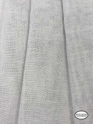 Wilson - Sabre - Silver  | Upholstery Fabric - Grey, Plain, Silver, Synthetic, Domestic Use, Textured Weave, Plain - Textured Weave, Weighted Hem, Wide Width