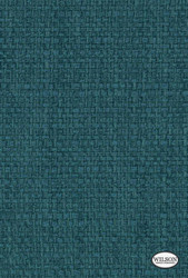 Wilson - Salford - Teal  | Curtain Fabric - Floral, Garden, Synthetic, Turquoise, Teal, Standard Width
