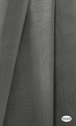 Wilson - Aruba Sheer - Ironbark  | Curtain Sheer Fabric - Grey, Plain, Synthetic, Domestic Use, Wide Width