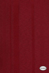 Wilson - Santiago - Scarlet  | Curtain & Upholstery fabric - Red, Fibre Blends, Stripe, Domestic Use, Semi-Plain, Standard Width