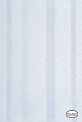 Wilson - Santiago - Egret    Curtain & Upholstery fabric - Fibre Blends, Stripe, Turquoise, Teal, Domestic Use, Standard Width