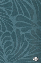Wilson - Marley - Translucent - Ocean    - Stain Repellent, Blue, Floral, Garden, Synthetic, Tropical, Turquoise, Teal, Suitable for Blinds