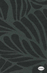 Wilson - Marley - Translucent - Pewter    - Stain Repellent, Floral, Garden, Synthetic, Tropical, Suitable for Blinds