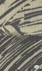 Wilson - Yvette Ii & Riley II - Stroke Charcoal  | Curtain Fabric - Black - Charcoal, Fibre Blends, Abstract, Standard Width