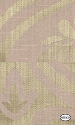 Wilson - Yvette Ii & Riley II - Damask Carnation  | Curtain Fabric - Beige, Damask, Fibre Blends, Traditional, Standard Width