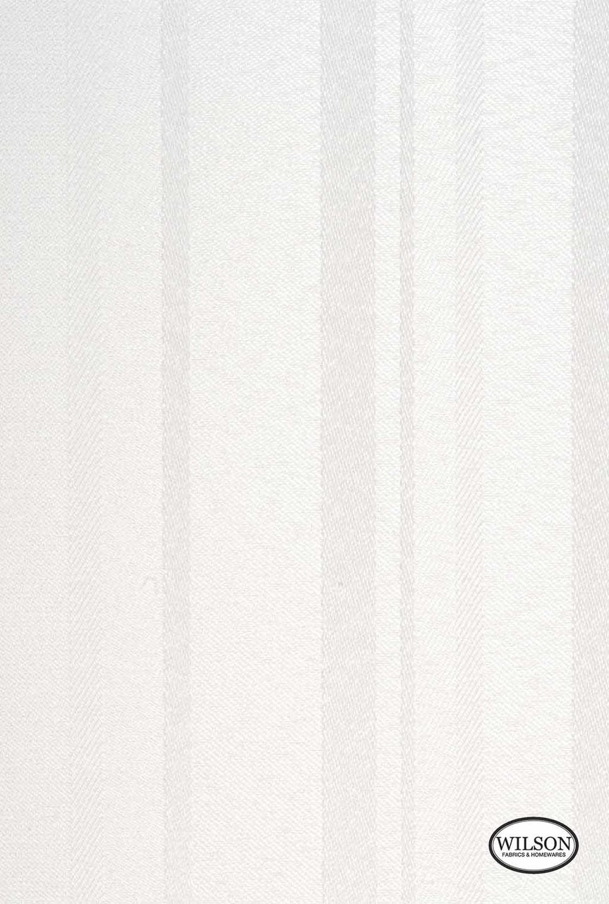 Wilson - Austin - Translucent - Blanc  | - Stain Repellent, Beige, White, Fibre Blends, Stripe, Traditional, Suitable for Blinds, White