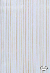 Wilson - Sheer Serenity Orwell - Orwell Almond    Upholstery Fabric - Beige, Stripe, Synthetic, Traditional, Domestic Use, Wide Width