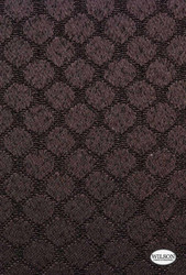 Wilson - Spencer - Translucent - Caviar  | - Stain Repellent, Burgundy, Fibre Blends, Lattice, Trellis, Suitable for Blinds, Circles
