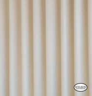Wilson - Stiffened Lining Blind 3Ps - Ivory Suede (20m Roll)  | Curtain Lining Fabric - Beige, Plain, Coated, Fibre Blends