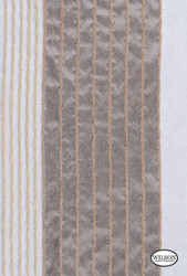 Wilson - Toby - Neutral  | Upholstery Fabric - Brown, Stripe, Synthetic, Domestic Use