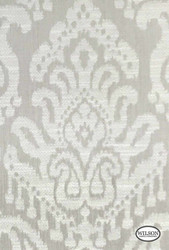 Wilson - Tulum - Warm Grey Damask  | Curtain Fabric - Grey, Damask, Fibre Blends, Traditional, Standard Width, Rococo
