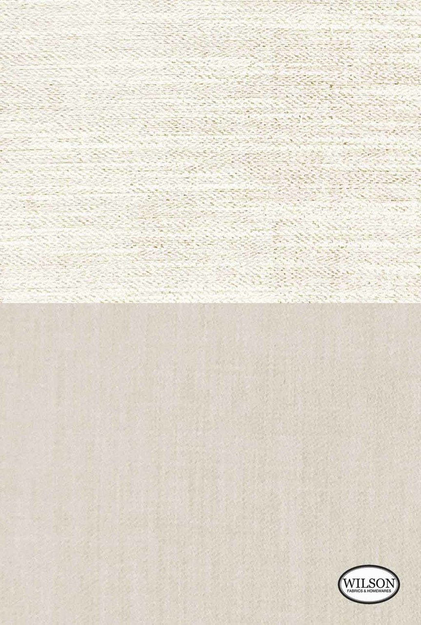 Wilson - Tulum - Stone Plain  | Curtain Fabric - Beige, Plain, Fibre Blends, Standard Width
