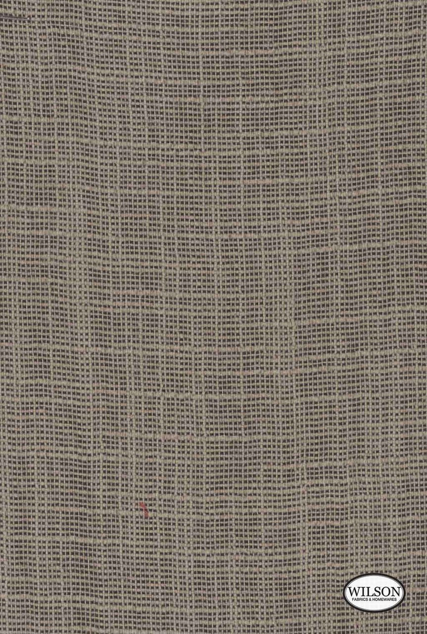 Wilson - Tuscany - Mink  | Curtain Fabric - Brown, Plain, Synthetic, Textured Weave, Plain - Textured Weave, Standard Width, Strie