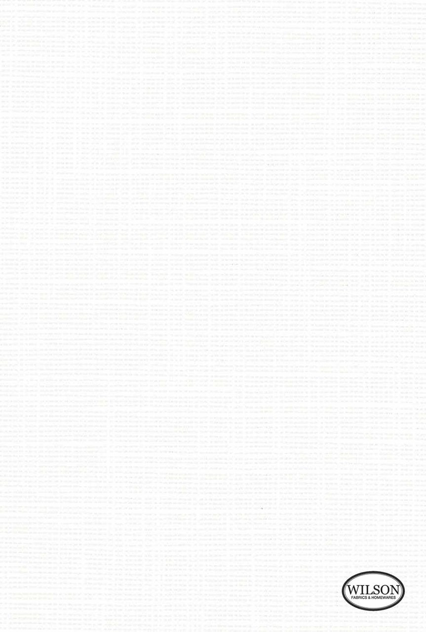 Wilson - Tuscany II - Translucent - White  | - Stain Repellent, Plain, White, Synthetic, Suitable for Blinds, White