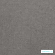 Warwick Trilby Lewis Cement  | Upholstery Fabric - Plain, Synthetic, Washable, Commercial Use, Halo, Natural, Standard Width