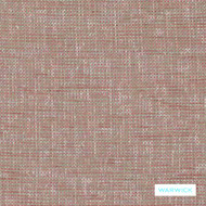 Warwick - Berge Rosewater  | Upholstery Fabric - Plain, Domestic Use, Plain - Textured Weave, Railroaded, Standard Width