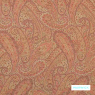 Warwick - Isfahan Document  | Upholstery Fabric - Paisley, Domestic Use, Railroaded, Standard Width