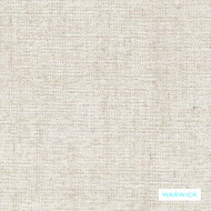 Warwick - Vanish Snow  | Upholstery Fabric - Plain, White, Slub, Domestic Use, White, Railroaded, Standard Width, Strie