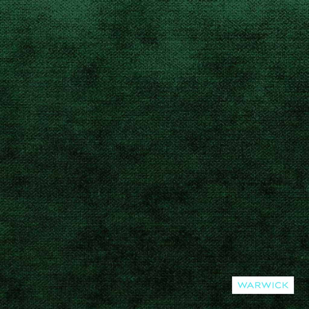 Warwick - Victory Forest  | Upholstery Fabric - Plain, Commercial Use, Plain - Textured Weave, Railroaded, Standard Width