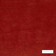 Warwick - Victory Paprika  | Upholstery Fabric - Plain, Red, Commercial Use, Textured Weave, Plain - Textured Weave, Railroaded, Standard Width