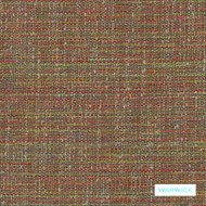 Warwick - Zion Spice  | Upholstery Fabric - Brown, Plain, Multi-Coloured, Domestic Use, Plain - Textured Weave, Railroaded, Standard Width