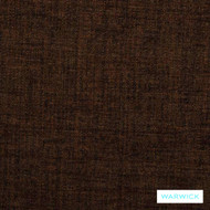 Warwick Verona Bark  | Upholstery Fabric - Brown, Plain, Synthetic, Washable, Commercial Use, Standard Width