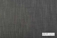 Elliott Clarke - Umbria - Charcoal  | Upholstery Fabric - Plain, Black - Charcoal, Fibre Blends, Domestic Use, Dry Clean, Textured Weave, Plain - Textured Weave, Strie