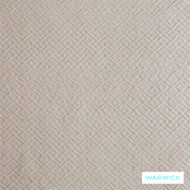 Warwick Villandry Langeais Linen  | Curtain Sheer Fabric - Beige, Geometric, Tan, Taupe, Traditional, Washable, Commercial Use, Domestic Use, Natural, Standard Width