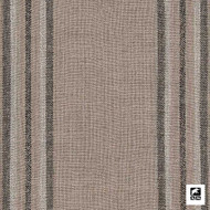 Andrew Martin - Helford - Flint  | Curtain & Upholstery fabric - Brown, Fibre Blends, Southwestern, Stripe, Domestic Use, Standard Width