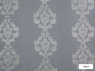 Ardecora - Baggio - 15381.995  | Curtain Fabric - Grey, Damask, Synthetic, Domestic Use, Railroaded, Wide Width