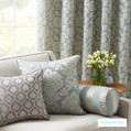 The invitingly engaging designer washable drapery and upholstery fabrics from the Winslow Eastbourne design style range by Warwick
