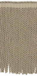 Houles - 36027 Valmont Bullion Fringe 21mm - 9820  | Fringe, Curtain & Upholstery Trim - Washable, Beige, Brown, Decorative, Trimmings, Fringe