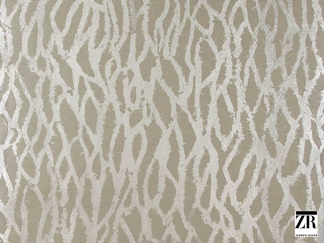 Zimmer and Rohde - Golden Rain - 2750018.185  | Wallpaper, Wallcovering - Grey, Silver, Organic, Domestic Use