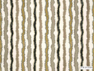 Travers - Andalucia Velvet - 40086.795  | Curtain Fabric - Beige, Black, Charcoal, Brown, Stripe, Railroaded, Velvets, Fibre Blend, Standard Width
