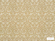 Hodsoll McKenzie - Fleming Damask - 21125.895  | Curtain Fabric - Beige, Gold, Yellow, Traditional, Damask, Rococo, Fibre Blend, Standard Width
