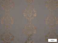 Ardecora - Baggio - 15381.886  | Curtain Fabric - Brown, Railroaded, Wide-Width, Damask