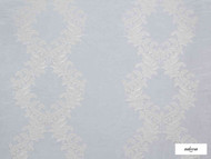 Ardecora - Cadorna - 15374.884  | Curtain Fabric - Blue, Grey, Damask, Fibre Blends, Domestic Use, Standard Width