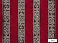 Ardecora - Duomo - 15376.387  | Curtain Fabric - Red, Fibre Blends, Stripe, Traditional, Domestic Use, Standard Width, Rococo
