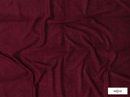 Ardecora - Josephine Baker - 15321.336  | Curtain & Upholstery fabric - Burgundy, Plain, Synthetic, Domestic Use, Standard Width