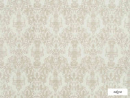 Ardecora - Liberta - 15343.992  | Curtain Fabric - Damask, Natural Fibre, Domestic Use, Natural, Railroaded, Wide Width, Rococo