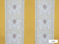 Ardecora - Manzoni - 15380.194  | Curtain Fabric - Gold,  Yellow, Damask, Fibre Blends, Stripe, Traditional, Domestic Use, Standard Width, Rococo