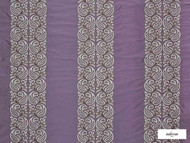 Ardecora - Meda - 15370.486  | Curtain Fabric - Damask, Fibre Blends, Pink, Purple, Stripe, Traditional, Domestic Use, Standard Width, Rococo